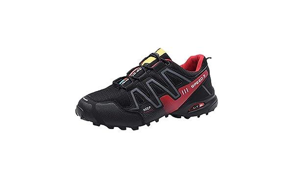 Amazon.com: Mens Non-Slip Shoes,Sharemen Large Size Mesh Breathable Sports Shoes Ultra Light Casual Work Shoes(Black,US: 7): Clothing
