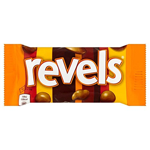 Revels Bag - 35g - Pack of 12 (35g x 12 Bags)