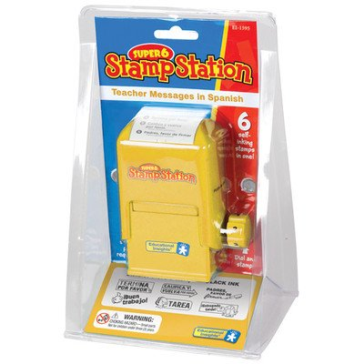 UPC 086002015952, Educational Insights Teacher Messages in Spanish (Super 6 Stamp Station)