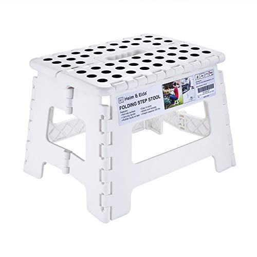 Folding Step Stool 9 Inch Height Foldable Stool For Kids