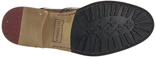 Ben Sherman Patrick B, Zapatos de Cordones Brogue para Hombre Brown (Cow Burnish Brown)