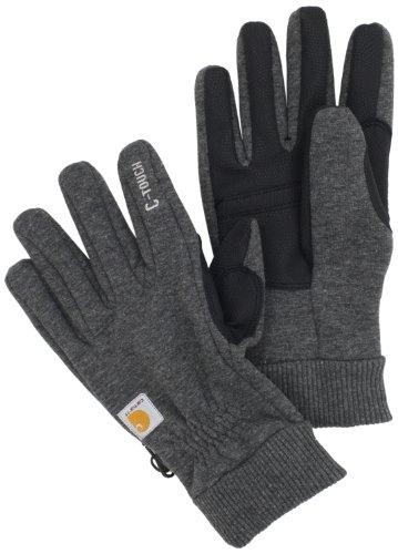 Carhartt Men's C-Touch, Carbon Heather, (Carhartt Fleece Gloves)