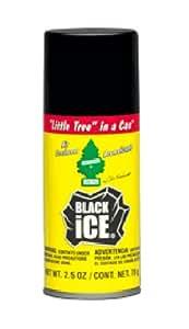Magic Tree habitación y ambientador para coche de Spray - Black Ice