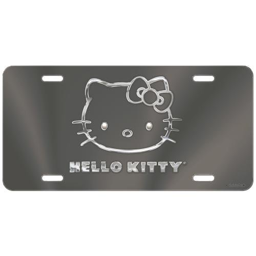 hello kitty car tag - 3