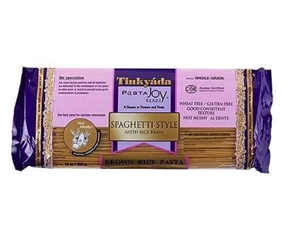 Tinkyada Brown Rice Pasta Spaghetti Style Gluten and Wheat Free -- 16 oz