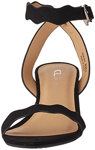 Heeled Jessenia Laundry Chinese Suede Sandal by Black Women's CL wxXIzq