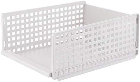SODIAL Desmontable Organizador de Ropa Armario Tabique Taburete Rack Caja de Almacenamiento de Ropa Dormitorio Capa de Almacenamiento de Múltiples Capas Apilable (Tama?o 2): Amazon.es: Hogar