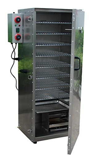 Hakka Electric Stainless Steel Smoker Barbecue BBQ Grill Cooker Outdoor (DSH-S03L) by HAKKA BROTHERS (Image #1)