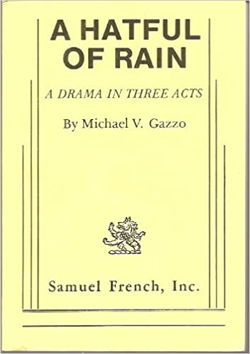 Amazon a hatful of rain 9780573610028 michael v gazzo books a hatful of rain first edition edition fandeluxe Gallery