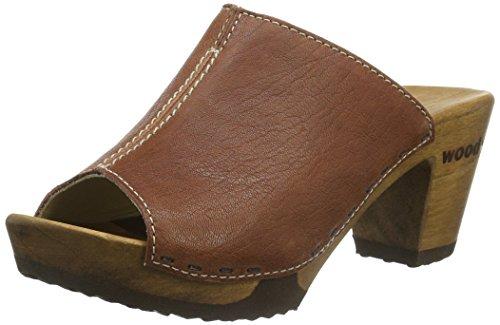 Woody Elly - Mules Mujer Marrón - Braun (copper)