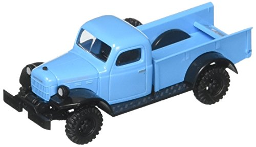 Busch 44024 Dodge Power Wagon Blue HO Scale 1:87 Model Vehicle