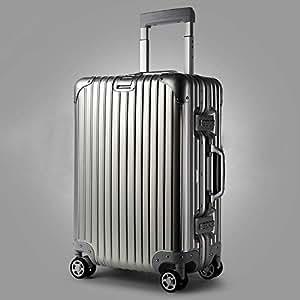 NJC Trolley Case Aluminum Trolley Case Aluminum Suitcase Universal Wheel Aluminum Frame Suitcase Trolley Case
