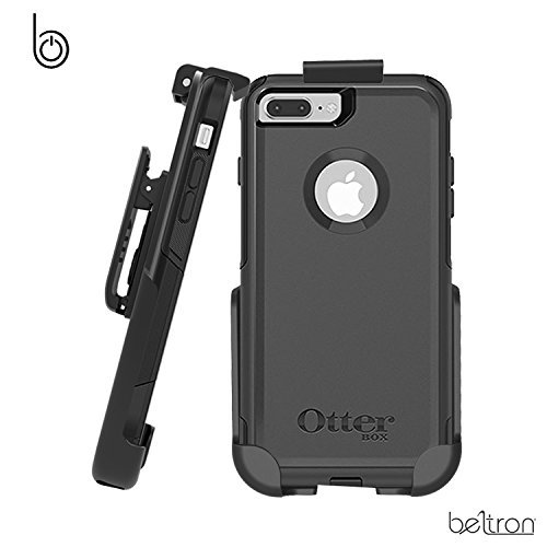finest selection 282d4 5d9e6 BELTRON Belt Clip Holster for OtterBox Commuter Case - iPhone 7 Plus/iPhone  8 Plus 5.5in (case is not included) (Renewed)