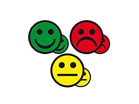 Amazon.com: Status magnético Smiley, 2,