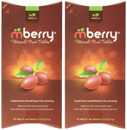 mberry Miracle Fruit Tablets, 10-Count (Pack of 2) - Buy Online in
