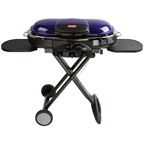 Coleman RoadTrip LXE Portable Propane Grill, Purple