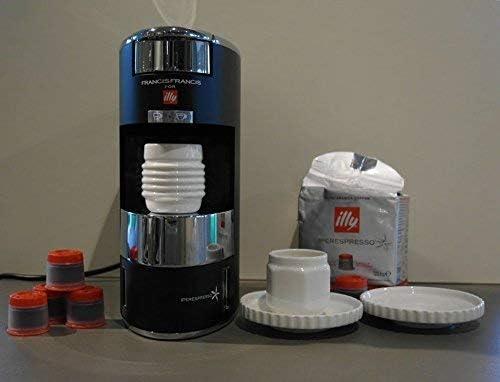 Illy – Francis Francis X9IperEspresso Machine à café – Noire