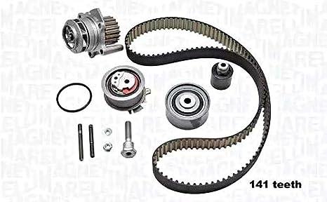 Magneti Marelli 03 - g198119 a Kit correas de distribución con bomba de agua: Amazon.es: Coche y moto