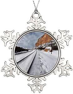 Amazon.com: Liz66Ward Snow Ice Large Outdoor Christmas ...