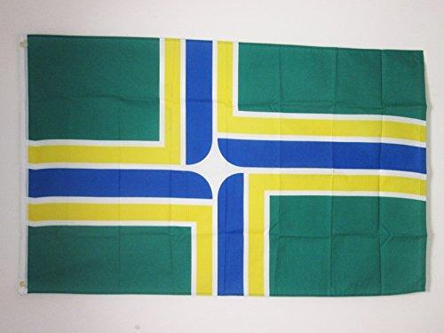 Amazon.com: Portland City Bandera 3 x 5 – Oregon – USA ...