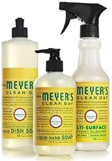 product image for Mrs. Meyers Clean Day Kitchen Basics Set (Honeysuckle)