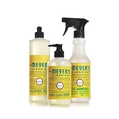 Mrs. Meyers Clean Day Kitchen Basics Set (Honeysuckle)