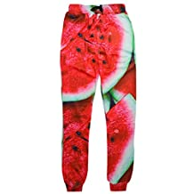 RAISEVERN Unisex 3d Printed Casual Active Sports Gym Pants Joggers Sweatpants