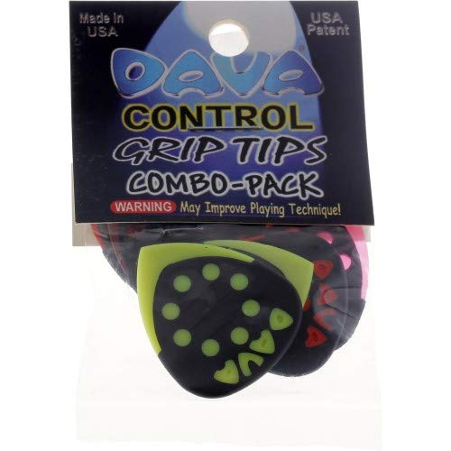 Dava Grip Tip Combo Medium 6-Pack Assorted Colors ()