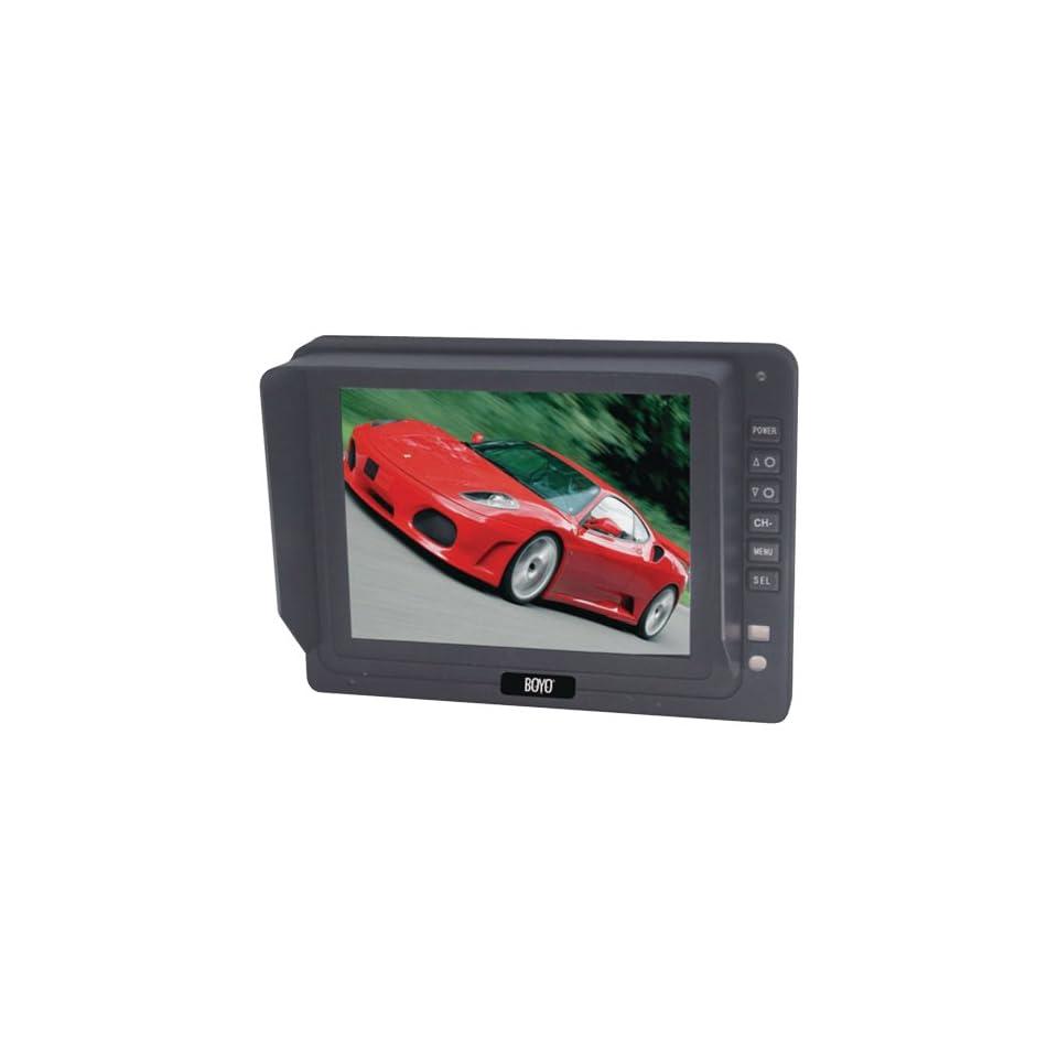 New BOYO VTM5000 5 TFT LCD DIGITAL PANEL MONITOR WITH 3 VIDEO INPUTS   BYOVTM5000