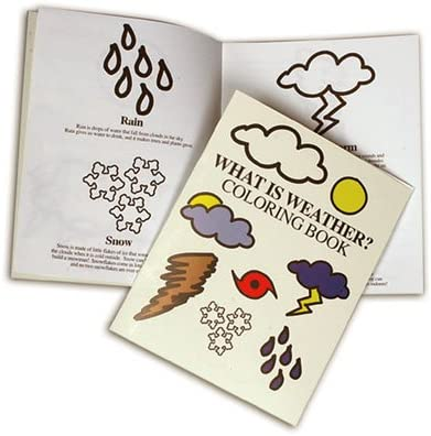 Amazon.com: Weather Symbol Coloring Book: Toys & Games