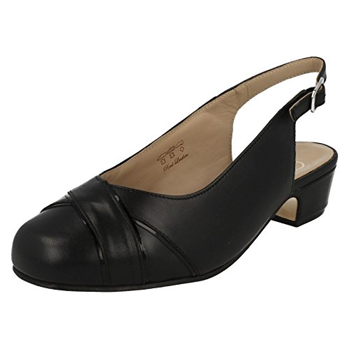 Equity ,  Damen Sling Backs Black Leather