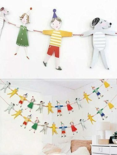 c406dfe36 Amazon.com  UChic 2.7M Baby Gilrs Kid s Bedroom Banner Cartoon ...