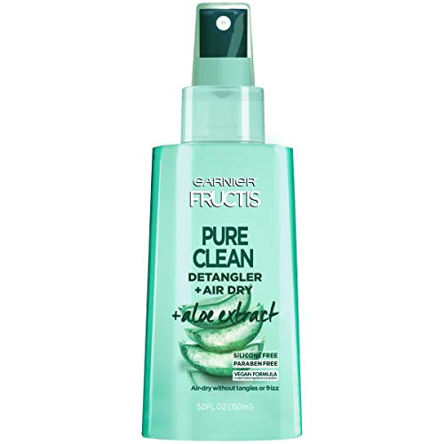 Garnier Fructis Pure Clean Detangler + Air Dry, 5 fl. oz. - Light Detangler Spray