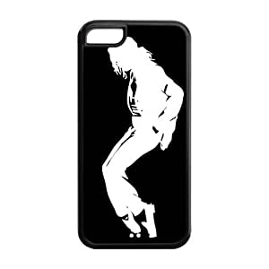 Michael Jackson Super Fit iPhone 5c Cases Solid Rubber Customized Cover Case for iPhone 5c 5c-linda989 hjbrhga1544