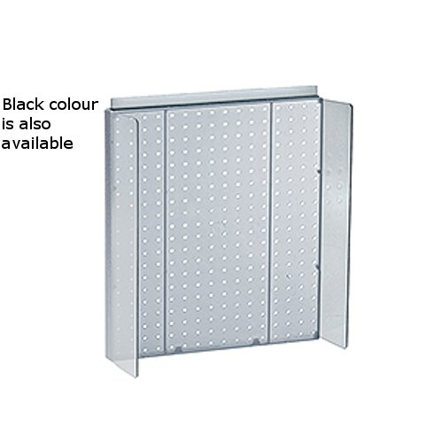 New Retails Black Pegboard Powerwing Display 16''w x 20.25''high by Pegboard Powerwing Display