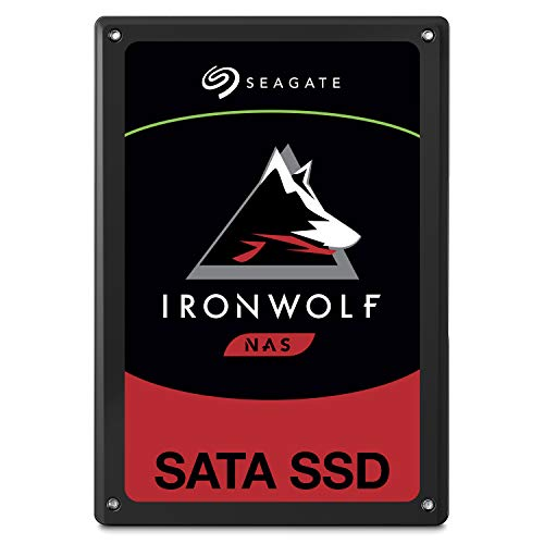 Seagate IronWolf 110 1.92TB NAS SSD Internal Solid State Drive - 2.5 inch SATA for Multibay RAID System Network Attached Storage, 2 Year Data Recovery (ZA1920NM10001)