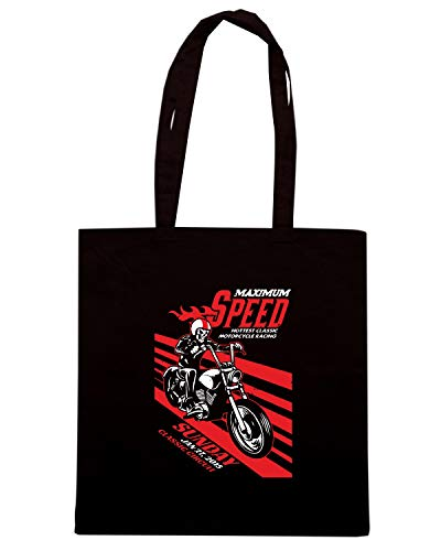 IN Speed Shopper Nera TB0332 EVENT Shirt DIRTY RACING AND Borsa MOTORBIKE TEXTURE VINTAGE qrgEw8pqn