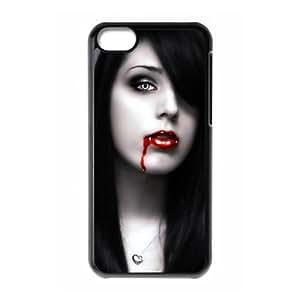 iPhone 5c Cell Phone Case Black Vampire LGU