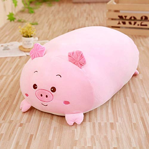 TREGIA 30/60/90Cm Soft Animal Cartoon Pillow Cushion Cute Fat Dog Cat Pig Frog Plush Toy Kids Birthday Gift I Cool Must Haves Friendship Gifts The Favourite Comic Superhero Birthday Unboxing Kit by TREGIA