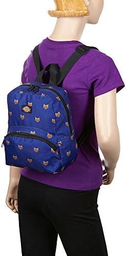 Dickies Mini Mini Festival Backpack (Clear PVC with Rainbow) 5