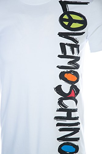 MOSCHINO Love Colours T Shirt in White M by MOSCHINO (Image #3)