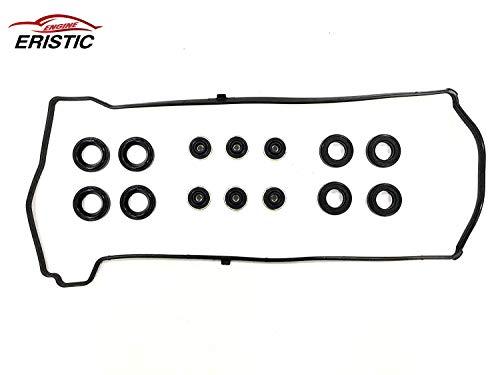 Seal Element (ERISTIC ET641S1 Valve Cover Gasket Set For 2002-2013 Acura Honda 2.0L 2.4L L4)