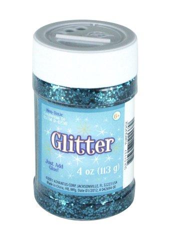 Sulyn 4 oz. Glitter Jar (Turquoise Glitter)