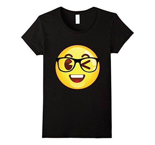Women's Nerd Emoji Shirt