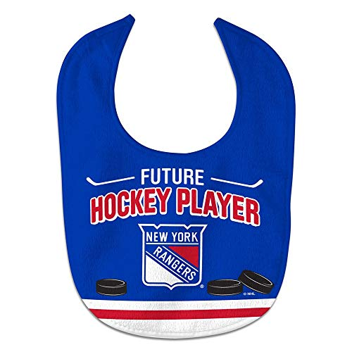 WinCraft NHL New York Rangers WCRA2194614 All Pro Baby Bib ()