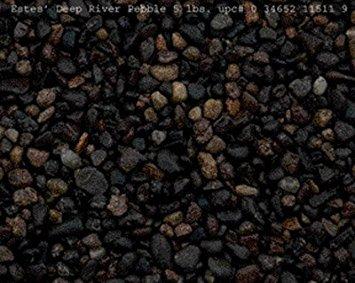 (Spectrastone Deep River Pebble for Freshwater Aquariums, 5-Pound Bag)