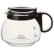 Kalita 102 Server 600 CC black coffee maker [Kitchen] (japan import)