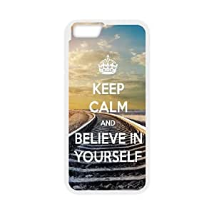 Be Yourself iPhone 6 4.7 Inch Cell Phone Case White moqz