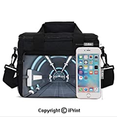 For Picnics: With so much space, this lunch bag packs a punch. All those great picnics where you had to worry about how little you could carry with you? No more of that. Be it an outing with friends or a party at school, this lunch bag has yo...