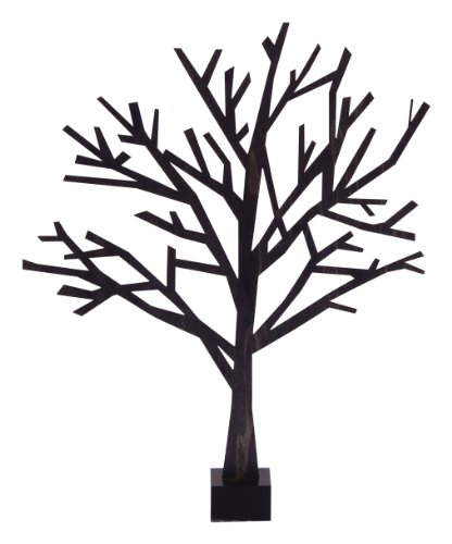 Design Ideas Poplar Wood Ornaments and Trees (Extra Small Tree)
